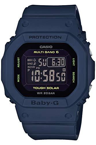 [カシオ] 腕時計 ベビージー 電波ソーラー スーパーイルミネータータイプ(高輝度なLEDライト) BGD-5000U-2JF レディース ネイビー