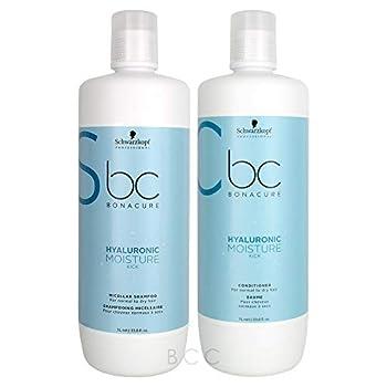 Schwarzkopf BC Bonacure Moisture Kick Shampoo And Conditioner  33 oz/each