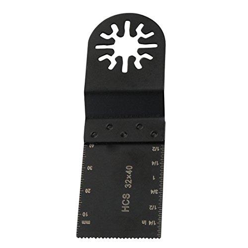 SHIJING 1 x 32 mm Sägeblatt, oszillierendes Multi-Werkzeug für Metall, Holz, Holzbearbeitung für Dremel Elektrowerkzeuge