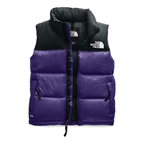 The North Face Women's 1996 RTRO Down Nuptse Vest (Hero Purple, S)