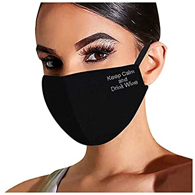 Sparkle Reusable Face Mask for Adult,Christmas Printed Flash Diamond Rhinestone Cotton Breathable Face Cover for Party