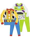Disney Pijamas para niños 2 Paquetes Ajuste Ceñido Toy Story Multicolor 2-3 Años
