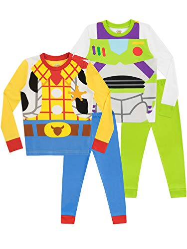 Disney Boys' Toy Story Pajamas 2 Pack Size 6 Multicolored