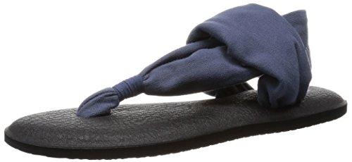 Sanuk Damen Yoga Sling 2 Robust Vintage, Slate Blue, 40 EU