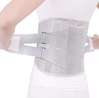 ZUZU Slimming Belt Professional-Grade Waistband Self-Heating Waistband Hot-Pressure Hot Waistband Widened Steel Belt Waistband White