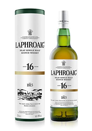 Laphroaig 16 Jahre Single Malt Whisky (1 x 0.7 l) - exklusiv auf Amazon