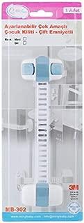 Miny Baby Unisex Buzdolabı, Dolap Çok Amaçlı Kilit, Mavi