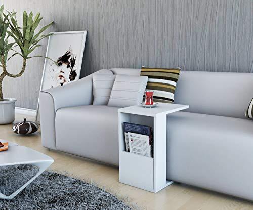P&W Escritorio pequeño y simple para computadora de espacio pequeño, resistente con marco de metal, perfecto para el hogar, oficina, escritorio de escritura, con marco de acero