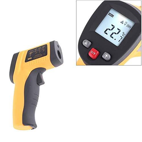 YBS Benetech termómetro infrarrojo GM300-50 ~ 420 ° C Temperatura de Mano sin Contacto Digital Pistola de emisividad 0.95 Precisa Display LCD retroiluminado de Lectura HD