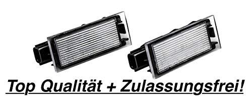 Preisvergleich Produktbild 2x LED SMD Kennzeichenbeleuchtung (RN06)