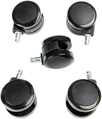 New Soft Caster Wheel for Herman Miller Aeron Embody Mirra Sayl Chiar Hardwood Floors 5Pcs product image
