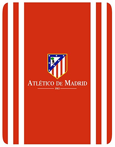 Atlético de Madrid Manta Polar Oficial  Tamaño 130x160cm Mod. ATM STADIUM