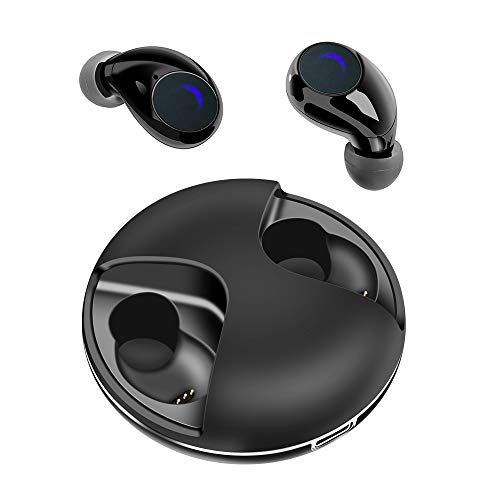 Rose Gold Wireless Earbuds Bluetooth 5.0, Noise Cancelling...