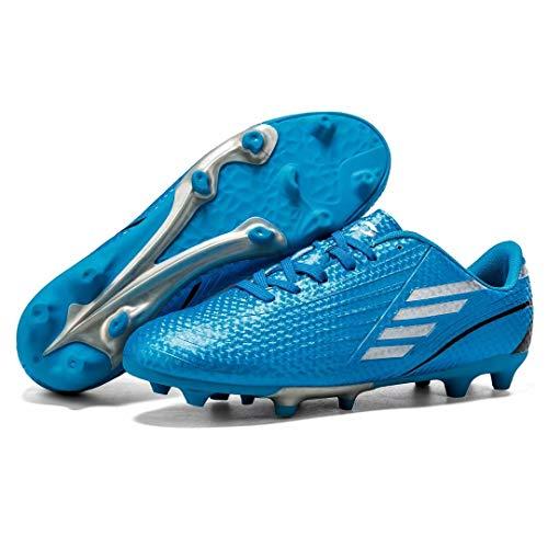 TOLLN Zapatos cómodos de fútbol de los hombres atléticos al aire libre de la, naranja, 12