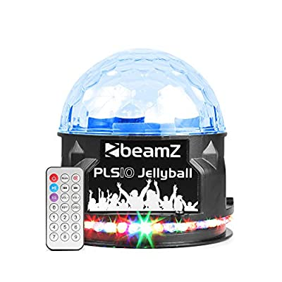 beamz PLS10 Disco Party Jellyball Light Bluetooth Speaker USB Rechargeable LED