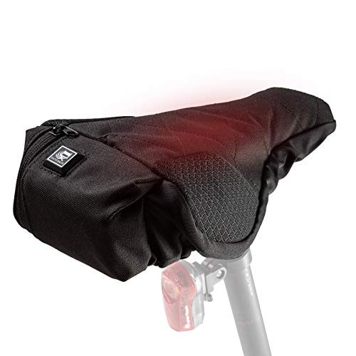 OUTCHAIR Easy Rider Calefacción del Asiento, Unisex Adulto, Negro, estándar