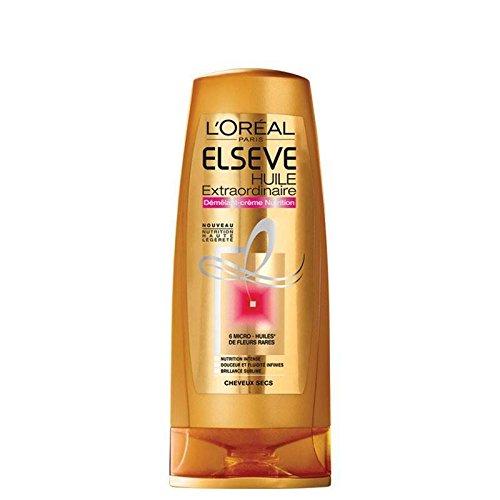L'Oréal Paris Démêlant nutrition huile extraordinaire, cheveux secs - Le flacon de 200ml