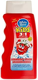 White Rain Kids 3-in-1 Hair and Body Wash - 12 oz. - Strawberry Splash