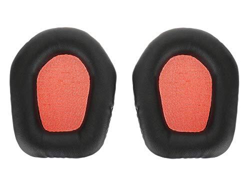 Almohadillas compatibles con Cascos de Mad Catz Tritton Primer Stereo| Negro/Naranja