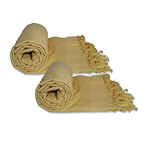 Riyashree Organic Cotton Silky Soft Bhagalpuri Dull chadar Blanket & Duvet ( 53*96 in ) Combo Pack of 2 Dull 03 03
