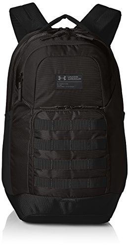 Under Armour Guardian Backpack Backpack,Black (001)/Black, One Size Fits All