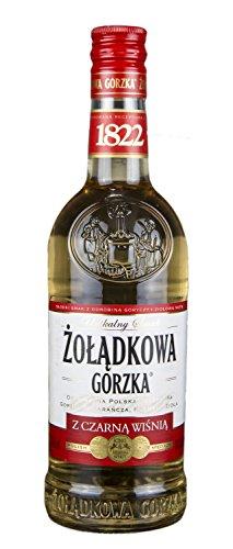Żołądkowa Gorzka Schwarzkirsche | Polnischer Wodka | 34%, 0,5 Liter