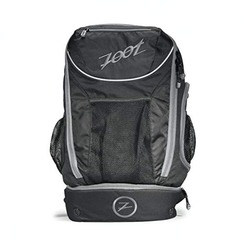 Zoot Rucksack Transition Bag, black/Silver, 50.8 x 31.8 x 25.4 cm