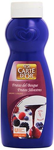 Carte D'Or - Sirope líquido - Frutas del bosque - 746 ml