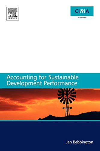 Accounting for Sustainable Development Performance