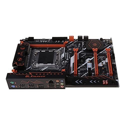 X79 LGA 2011 - Placa base (USB3.0, SATA3, PCI-E NVME M.2, compatible con 4x16G, REG, memoria ECC, procesador Xeon E5)