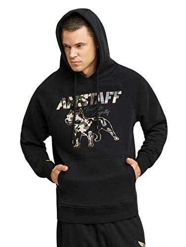 Amstaff Logo Männer Kapuzen Pullover Sweater Jacke Freitzeit Hoodie Hoodie Camouflage 2.0 2XL