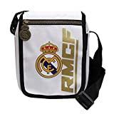 Real Madrid Portadiscman, Borsa a Tracolla per Il Tempo Libero e Sportwear, Unisex Adulto, Multicolore (Multicolore), Taglia Unica