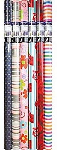Geschenkpapier Kangaro everyday sortiert 70x3.7x3.7 cm, K-95902