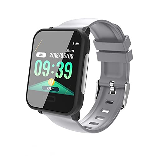 LHL Pulsera Inteligente, Bluetooth, E33 con presión Arterial de ECG HR, Banda Inteligente a Prueba de Agua, Reloj de Fitness, Adecuado para Android iOS,B