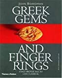 Greek Gems and Finger Rings: Early Bronze Age to Late Classi