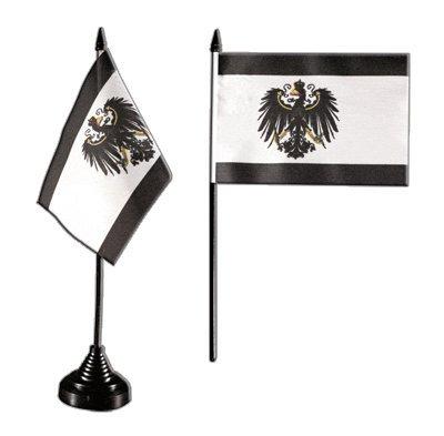 Tischflagge / Tischfahne Preußen + gratis Aufkleber, Flaggenfritze®