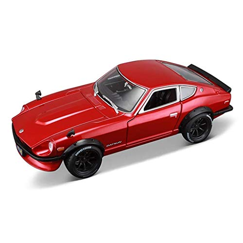 Hyzb Car Model 1:18 Nissan 1971Datsun 240Z Simulation Alloy Die-casting Toy Ornaments Sports Car Collection Jewelry 23x10x6.5CM