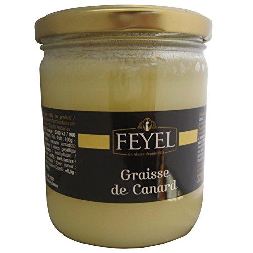 Schmalz - Graisse de Canard, Fett von der Ente ohne Salz, Entenschmalz 320 g