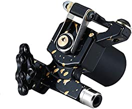 Mummy Rotary Tattoo Machine with RCA Connection Japan Motor (black-3)
