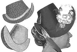 1880s French Bonnet Pattern
