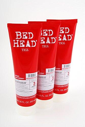 Tigi Bed Head Urban Antidotes Resurrection Shampoo - 250ml 3er Pack (3x250ml)