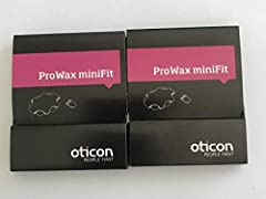 Genuine Oticon ProWax MiniFit Replacement Wax Filters