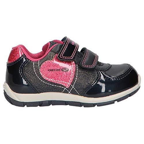 Geox Laufschuhe Mädchen, Farbe Schwarz, Marke, Modell Laufschuhe Mädchen B943YA Schwarz