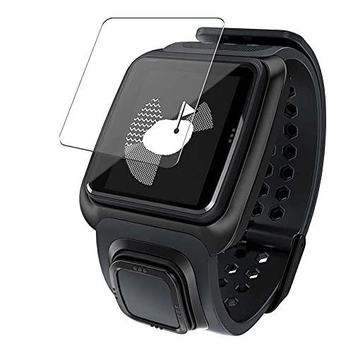 Vaxson 3 Stück Schutzfolie, kompatibel mit TomTom Golfer GPS Watch smartwatch Smart Watch, Displayschutzfolie TPU Folie [ nicht Panzerglas ]