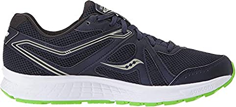 Saucony Cohesion 11 Navy/Slime 10 E - Wide