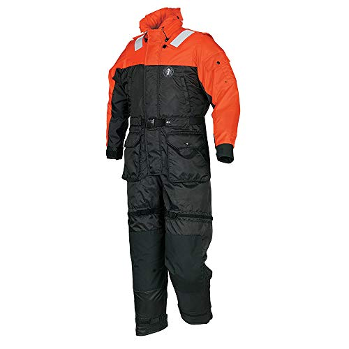 Fantastic Deal! Mustang Survival Standard Coverall and Worksuit, Orange, Medium