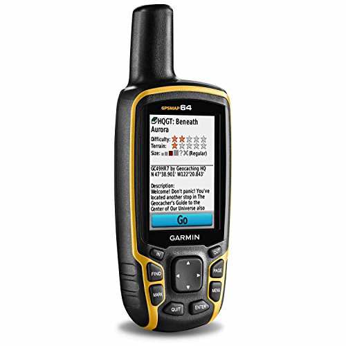 Garmin GPSMAP 64 Worldwide with High-Sensitivity...