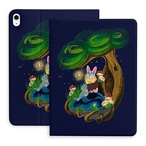 Girl The protective case is suitable for iPad Air 4th generation. Stand case