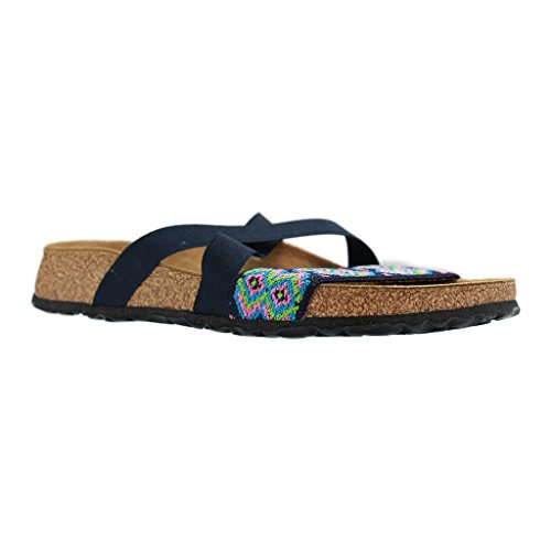 BIRKENSTOCK Womens Cosma Narrow Fit - Aztec Dark Blue 323363 36 EU