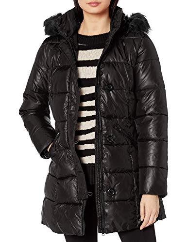 Pink Platinum Womens 31 Zip Front Down Blend Jacket